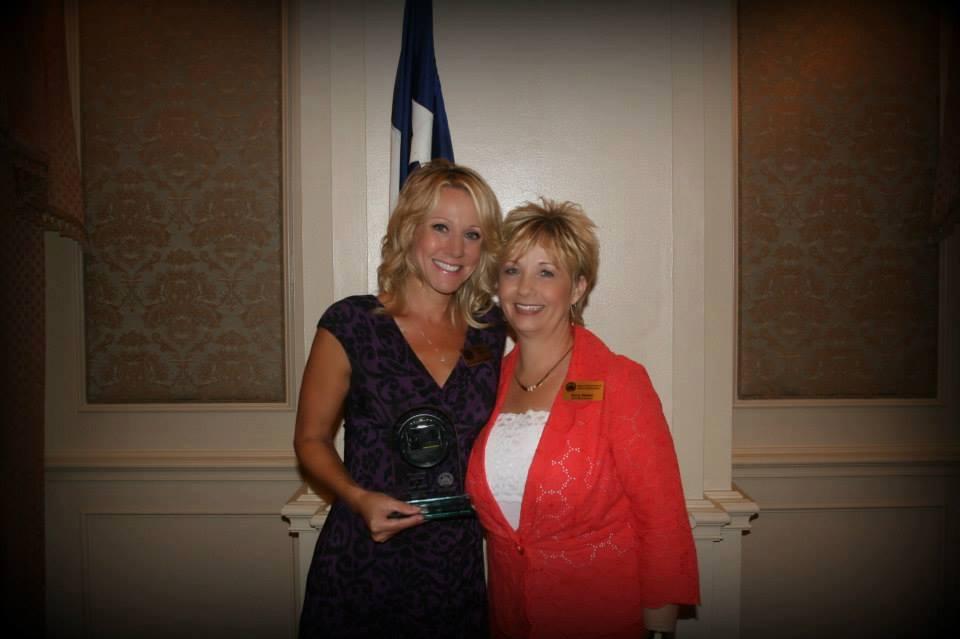 Tanya Boyd and Doris Walker, president of Dallas Association of Health Underwriters